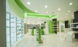 Отделка аптек в Новосибирске