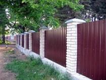 Строительство заборов, ограждений в Новосибирске